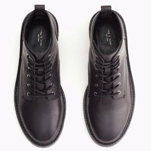 Rag and Bone Leather Combat Boot